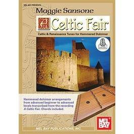 Mel Bay Celtic Fair (for hammered dulcimer) (Book + Online Audio)