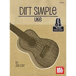 Mel Bay Dirt Simple Uke (Book + Online Audio)