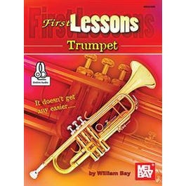 Mel Bay First Lessons Trumpet (Book + Online Audio)
