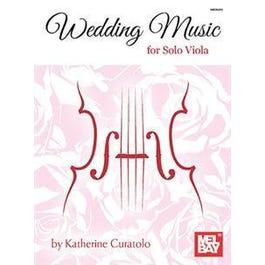Mel Bay Wedding Music for Solo Viola (Book)