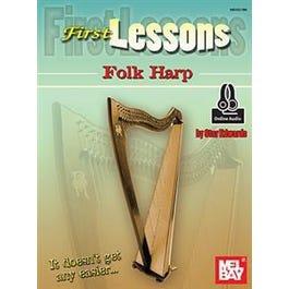 Mel Bay First Lessons Folk Harp (Book + Online Audio)