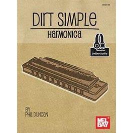Hal Leonard Dirt Simple Harmonica (Book + Online Audio)