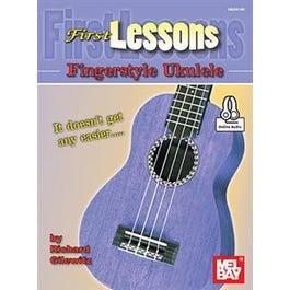 Mel Bay First Lessons Fingerstyle Ukulele (Book + Online Audio)