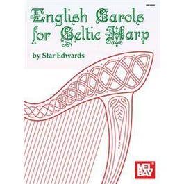 Mel Bay English Carols for Celtic Harp (Book)