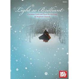 Hal Leonard Light so Brilliant (Book)Christmas Carols and Tunes for Solo Harp