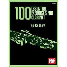 Mel Bay 100 Essential Exercises for Clarinet (Book)