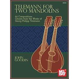 Mel Bay Telemann for Two Mandolins (Book)