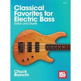 Mel Bay Classical Favorites for Electric Bass (Book)-Solos and Duets
