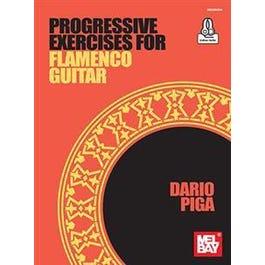 Mel Bay Progressive Exercises for Flamenco Guitar (Book + Online Audio)
