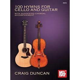 Mel Bay 100 Hymns for Cello and Guitar (Book)