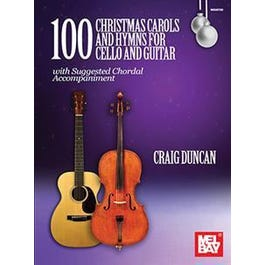 Mel Bay 00 Christmas Carols and Hymns for Cello and Guitar (Book)