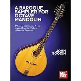 Mel Bay A Baroque Sampler for Octave Mandolin (Book)