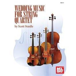 Mel Bay Wedding Music for String Quartet (Book + Insert)