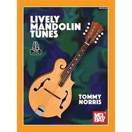 Mel Bay Lively Mandolin Tunes (Book + Online Audio)