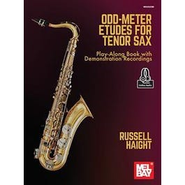 Mel Bay Odd-Meter Etudes for Tenor Sax (Book + Online Audio)