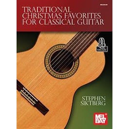 Mel Bay Traditional Christmas Favorites for Classical Guitar (Book + Online Audio)