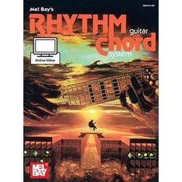 Mel Bay Rhythm Guitar Chord System (Book + Online Video)