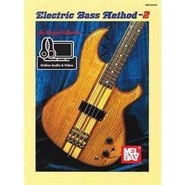 Mel Bay Electric Bass Method Volume 2 (Book + Online Audio/Video)