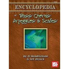 Mel Bay Encyclopedia of Bass Chords, Arpeggios and Scales (Book)