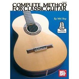 Hal Leonard Complete Method for Classic Guitar (Book + Online Audio)
