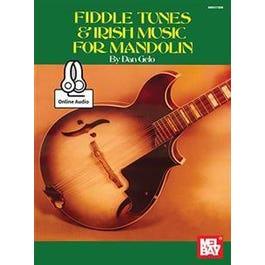 Mel Bay Fiddle Tunes & Irish Music for Mandolin (Book + Online Audio)