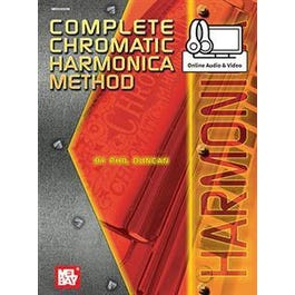 Image for Complete Chromatic Harmonica Method (Book + Online Audio/Video) from SamAsh