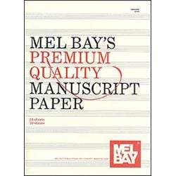 Image for Premium Quality Manuscript Paper Ten-Stave Quire (24) from SamAsh