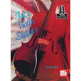 Mel Bay Jazz Violin Studies (Book + Online Audio)