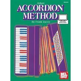 Mel Bay Deluxe Accordion Method (Book + Online Video)