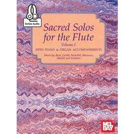 Mel Bay Sacred Solos for the Flute Volume 1 (Book + Insert + Online Audio)