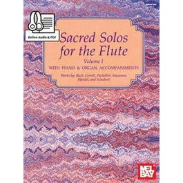 Mel Bay Sacred Solos for the Flute Volume 1 (Book + Online Audio/PDF Supplement)