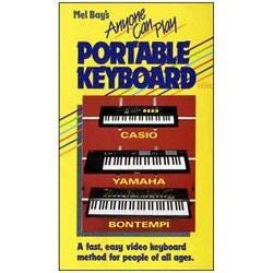 Image for Anyone Can Play Portable Keyboard (DVD) from SamAsh
