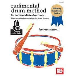 Mel Bay Rudimental Drum Method for the Intermediate Drummer (Book + Online Audio)