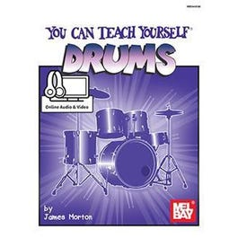 Mel Bay You Can Teach Yourself Drums (Book + Online Audio/Video)