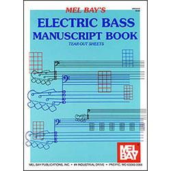 Image for Electric Bass Manuscript Book from SamAsh