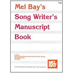 Image for Song Writer's Manuscript Book from SamAsh
