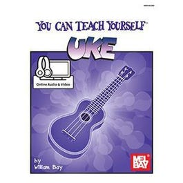 Mel Bay You Can Teach Yourself Uke (Book + Online Audio/Video)