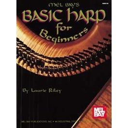 Image for Basic Harp for Beginners (Book) from SamAsh