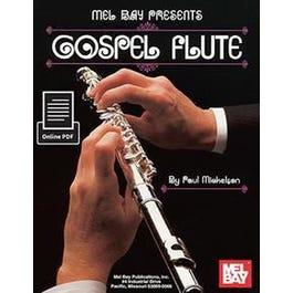 Mel Bay Gospel Flute (Book + Online PDF Supplement)