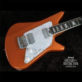 Ernie Ball Music Man Limited Edition BFR Albert Lee HH Electric Guitar Orange Crush