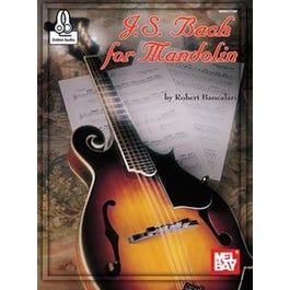 Mel Bay J. S. Bach for Mandolin (Book + Online Audio)