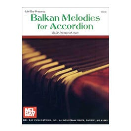 Image for Balkan Melodies for Accordion from SamAsh