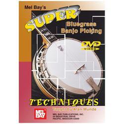 Image for Super Bluegrass Banjo Picking Techniques (DVD) from SamAsh