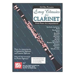 Image for Easy Classics for Clarinet - With Piano Accompaniment from SamAsh