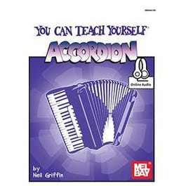 Mel Bay You Can Teach Yourself Accordion (Book + Online Audio)