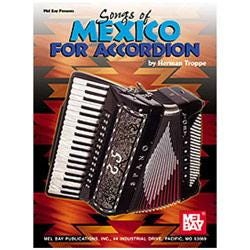 Image for Songs of Mexico for Accordion from SamAsh