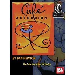 Mel Bay Cafe Accordion (Book + Online Audio)