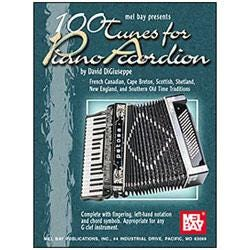 Image for 100 Tunes for Piano Accordion from SamAsh