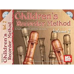 Image for Childrens Recorder Method Volume 2 (Book and CD) from SamAsh