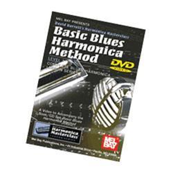 Image for Basic Blues Harmonica Method Level 1 DVD from SamAsh